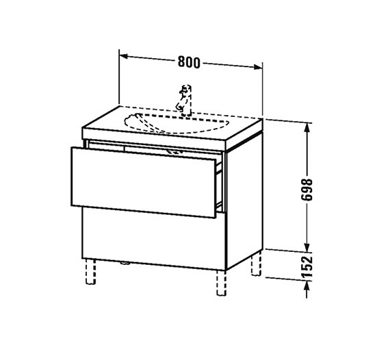 Technical drawing QS-V63789 / LC6910N1818