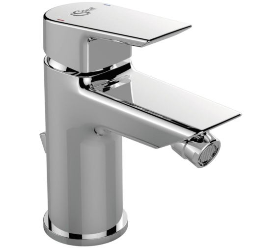 Ideal Standard Tesi Single Lever Bidet Mixer Tap With Pop-Up Waste