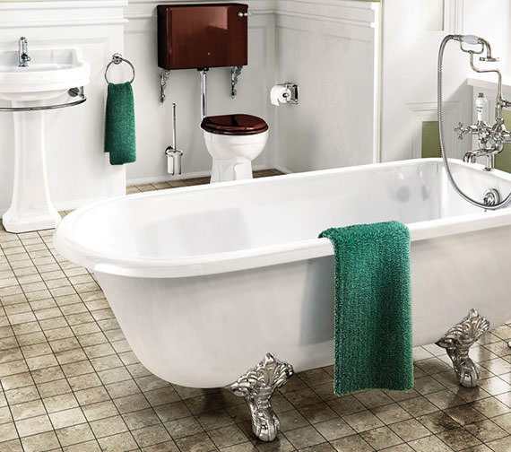 Burlington Blenheim 1700 x 750mm Freestanding Single Ended Bath