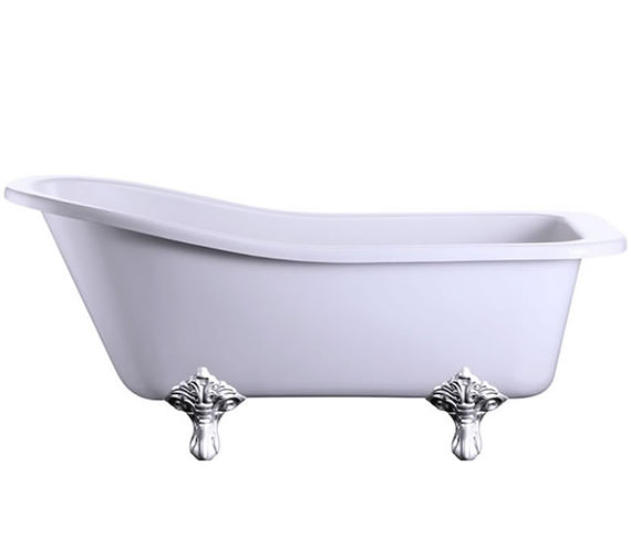 Burlington Harewood Slipper Bath 1700 x 730mm