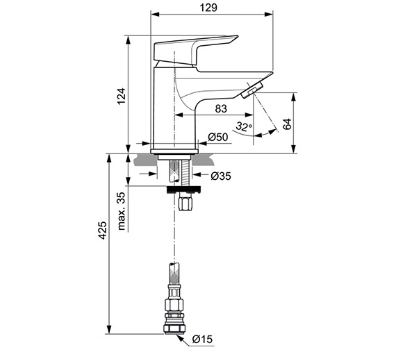 Technical drawing QS-V80123 / A6588AA