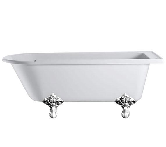 Burlington Hampton 1700 x 750mm Left Hand Freestanding Bath