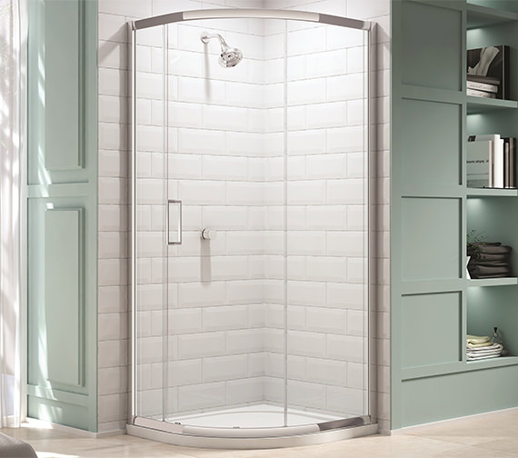 Merlyn 8 Series 900mm 1 Door Quadrant Shower Enclosure - M83225