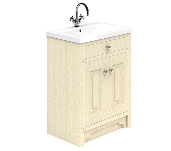 Essential Hampshire 2 Door 600mm Vanity Unit And Basin