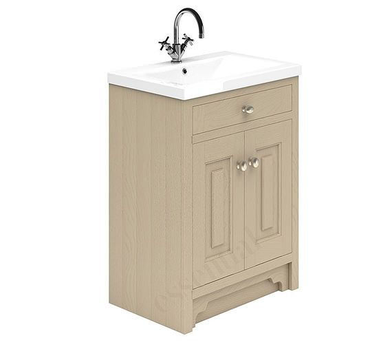 Alternate image of Essential Hampshire 2 Door 600mm Vanity Unit And Basin