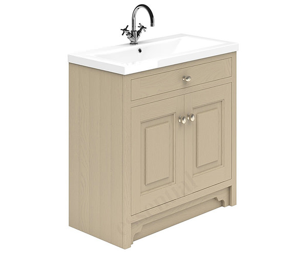 Alternate image of Essential Hampshire 2 Door 800mm Vanity Unit And Basin