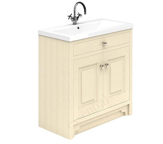 Essential Hampshire 2 Door 800mm Vanity Unit And Basin