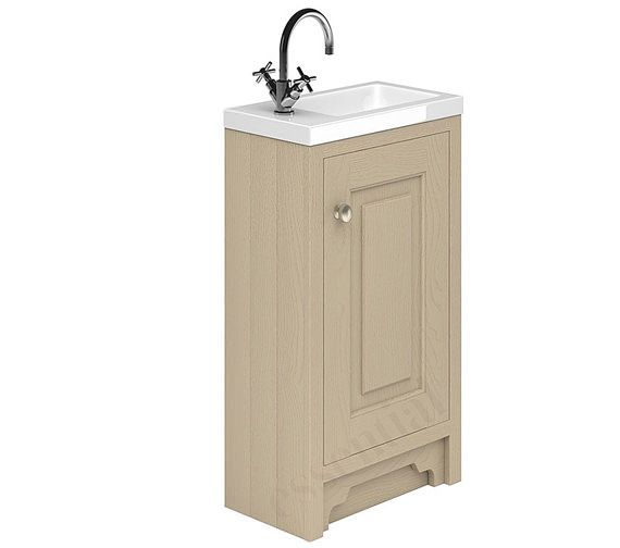 Alternate image of Essential Hampshire 1 Door 400mm Vanity Unit And Basin