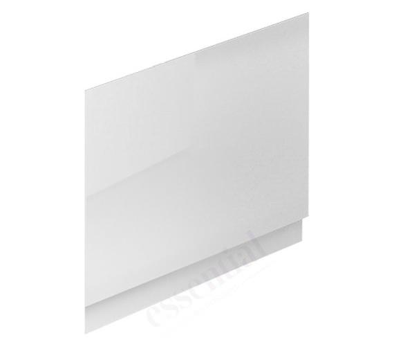 Essential Nevada White End Bath Panel 700mm Wide
