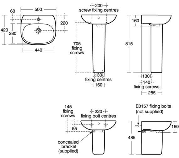 Technical drawing QS-V80132 / T031201