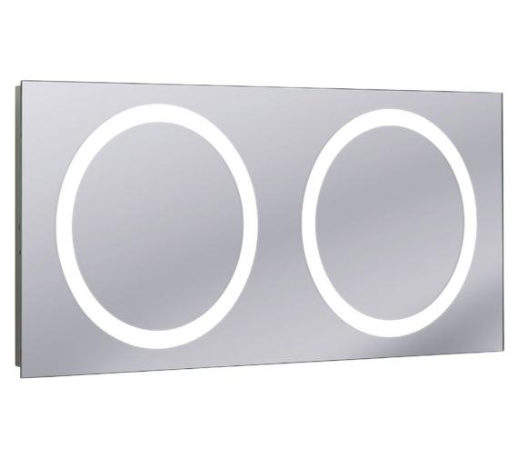 Bauhaus Edge Illuminated Mirror 1200 x 550mm