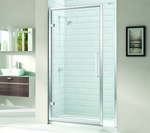 Merlyn 8 Series 900mm Hinge Door And 210mm Inline Panel
