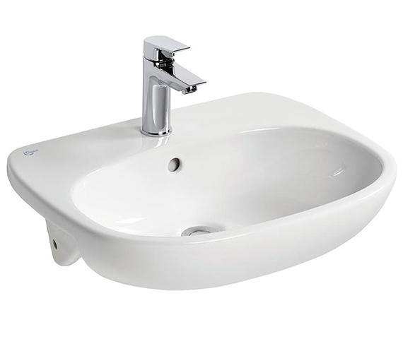 Ideal Standard Tesi 550 x 450mm Semi-Countertop Washbasin