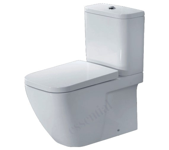 Essential Fuchsia Close Coupled Back To Wall WC Pack