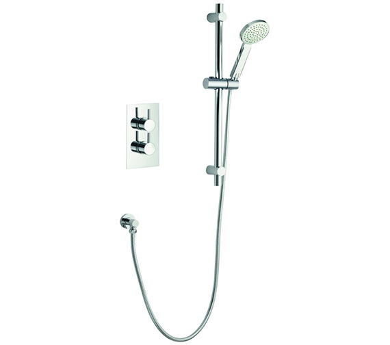 Pura Arco Single Outlet Concealed Thermostatic Valve With Shower Kit