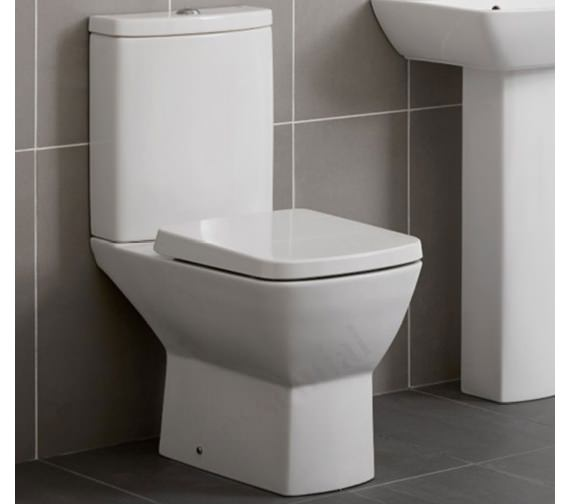 Essential Jasmine Close Coupled WC Pan Only