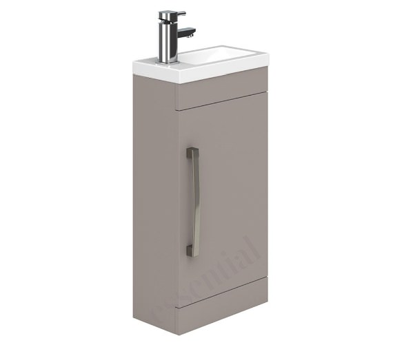 Essential Nevada 400mm Wide Single Door Vanity Unit And Basin