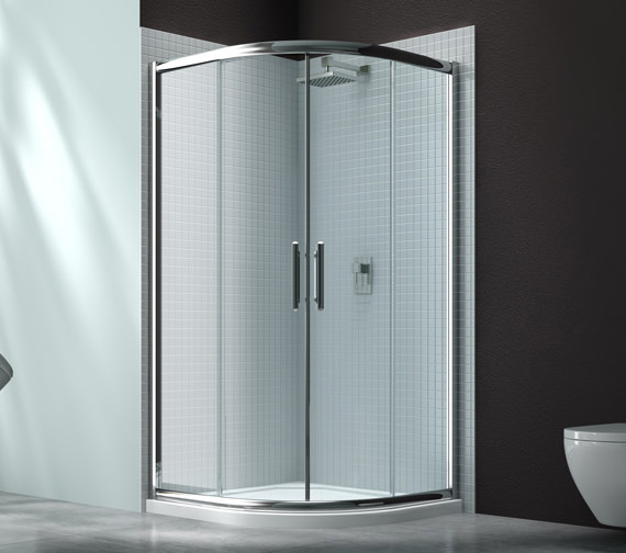 Merlyn 6 Series 2 Door Shower Quadrant With MStone Tray 900 x 900mm