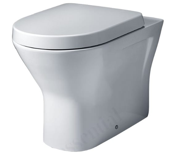 Essential IVY Back To Wall WC Pan And Soft Close Seat