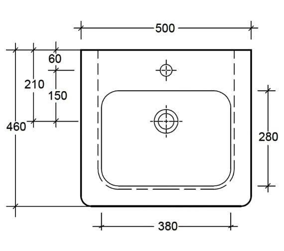Technical drawing QS-V83819 / EC7002