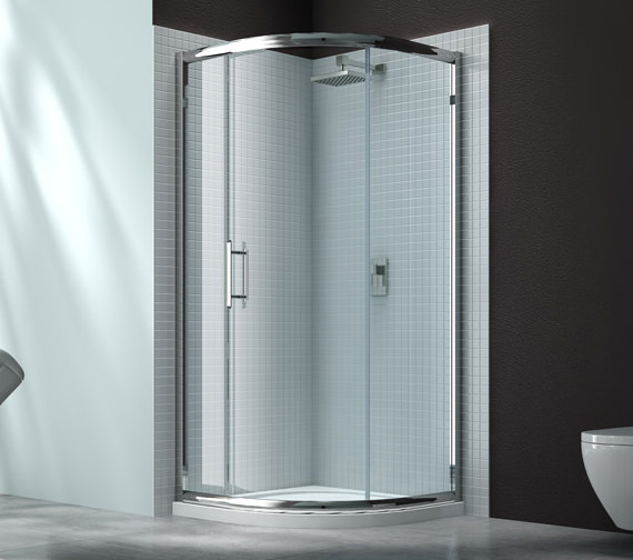 Merlyn 6 Series 1 Door Shower Quadrant With MStone Tray 900 x 900mm