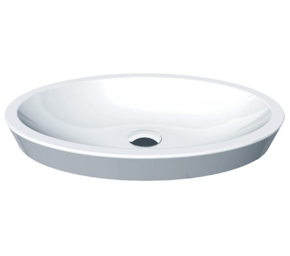 Essential IVY Vessel 580mm Oval Countertop Basin