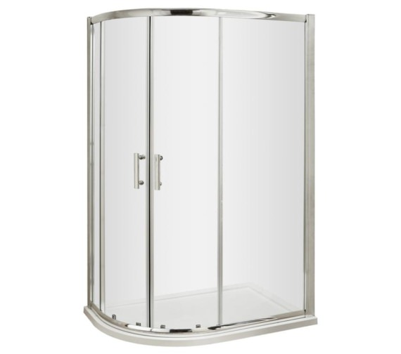 Beo Offset Quadrant Shower Enclosure 1200 x 800mm