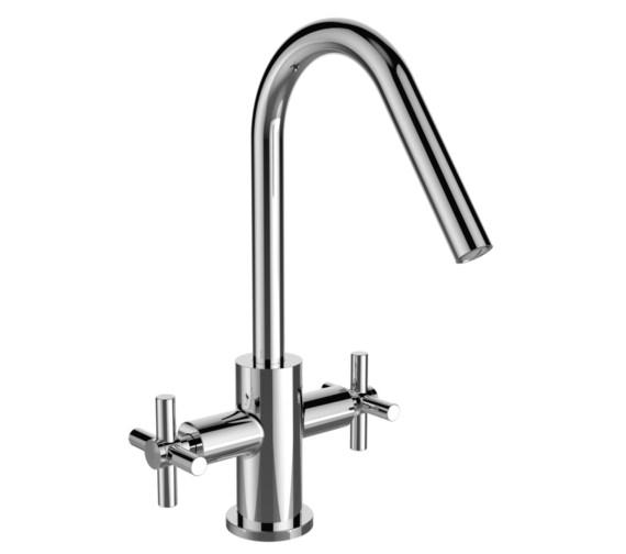 Bristan Pecan Chrome Kitchen Sink Mixer Tap With EasyFit Base