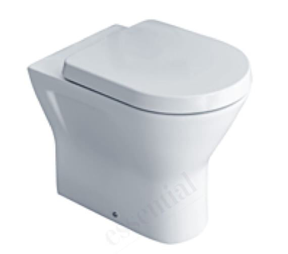 Essential IVY Comfort Height Back To Wall Toilet With Soft Close Seat - EC7028