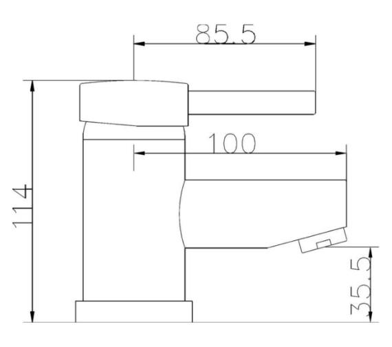 Technical drawing QS-V59664 / BEO-2116