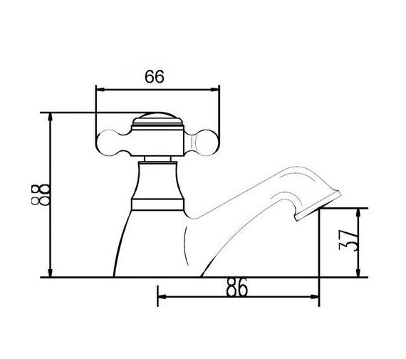 Technical drawing QS-V22443 / BEO-2120