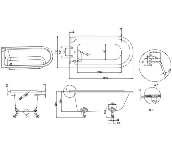 Technical drawing QS-V13462 / E20