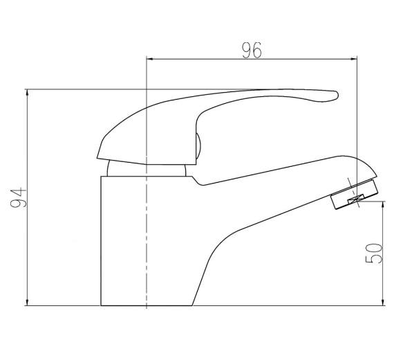 Technical drawing QS-V0062 / DTY335