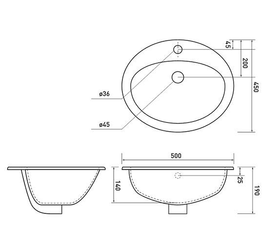 Technical drawing QS-V81580 / VB002