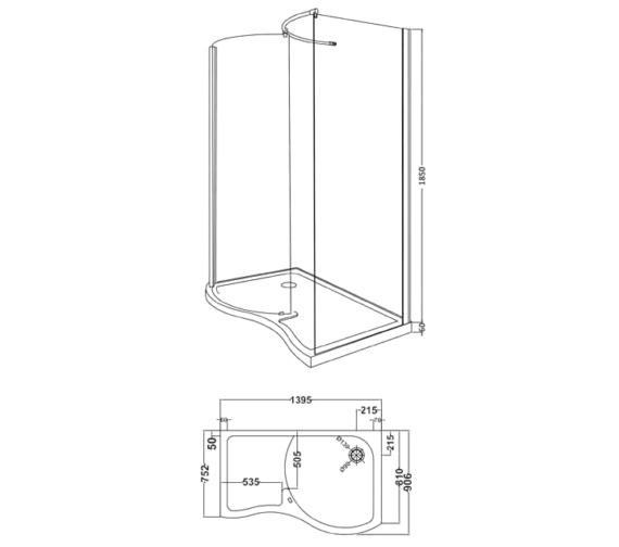 Technical drawing QS-V61495 / BEO-2140