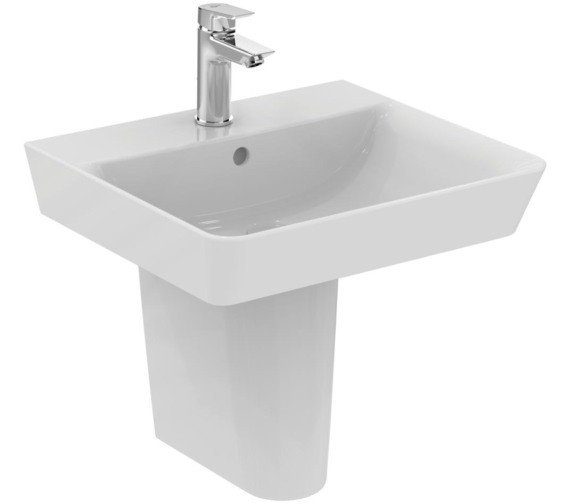 Perk bathroom fittings - Ideal Standard Concept Air Cube 500 X 450mm Washbasin