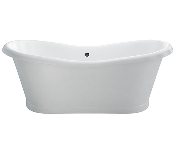 Burlington Admiral Freestanding Soaking Bath 1775 x 885mm