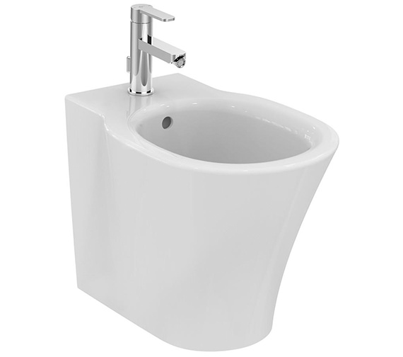 Ideal Standard Concept Air 1 Tap Hole Back-To-Wall Bidet 545mm