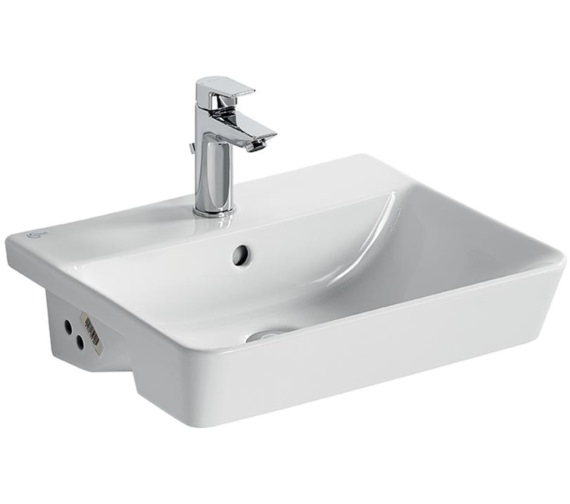 Ideal Standard Concept Air Cube 500 x 440mm Semi-Countertop Washbasin