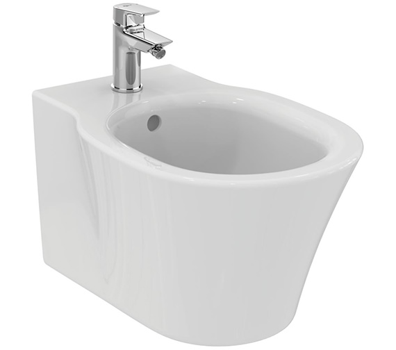 Ideal Standard Concept Air 1 Tap Hole Wall Hung Bidet 540mm