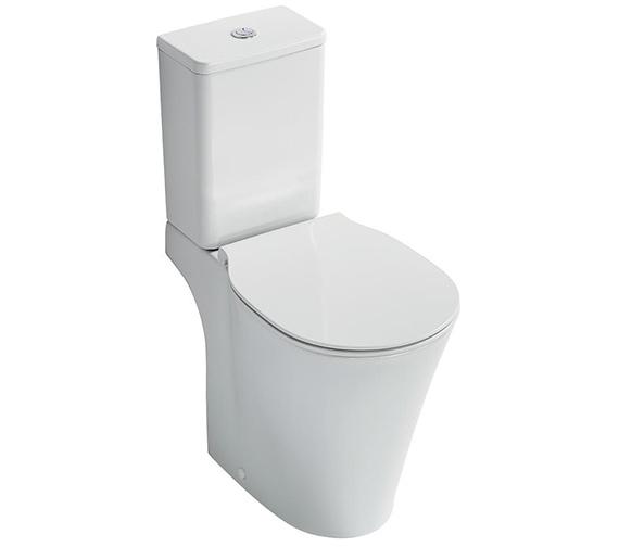 Ideal Standard Concept Air Aquablade Close Coupled WC Pan 665mm
