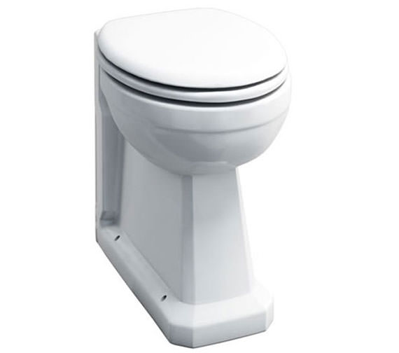 Burlington Regal Back-To-Wall WC Pan 480mm