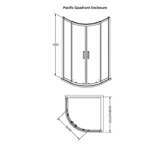 Technical drawing QS-V100 / AQU8