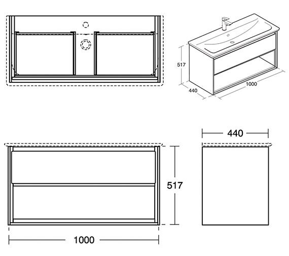 Technical drawing QS-V8420 / E0828B2