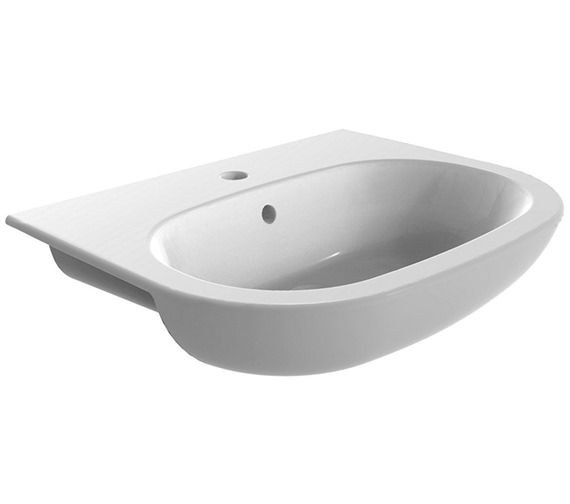 IMEX Urban 560mm 1 Tap Hole Semi Recessed Basin