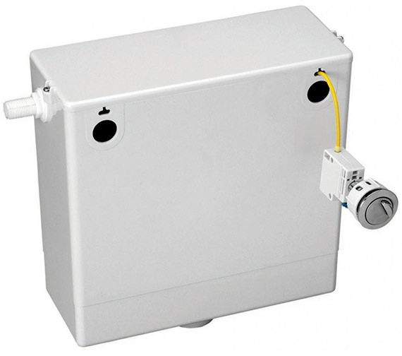 Pura Concealed Cable Operated Cistern With Dual Flush Button