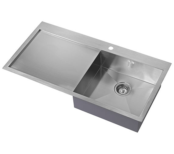 1810 Company Zenuno 5 I-F BBR 1.0 Bowl Kitchen Sink With Left Hand Drainer