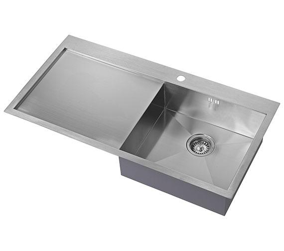 1810 Company Zenuno 5 I-F BBR 1.0 Bowl Kitchen Sink With Drainer