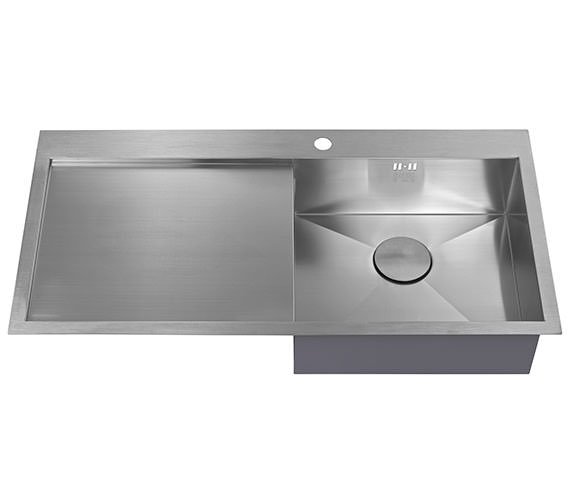Additional image of 1810 Company Zenuno 5 I-F BBR 1.0 Bowl Kitchen Sink With Left Hand Drainer
