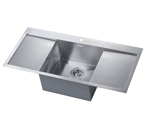 1810 Company Zenuno 45 I-F Deep 1.0 Bowl Kitchen Sink With Double Drainer